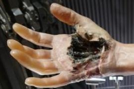 La mano de Luke Skywalker inspira para crear una piel robótica realista