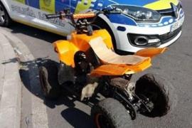 La Policía Local de Sevilla denuncia a un niño de 7 años por conducir un quad por la ciudad