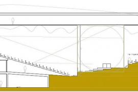 La futura sede de la Simfònica tendrá un auditorio con casi 600 butacas