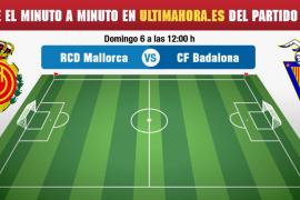 Real Mallorca-Badalona, en directo