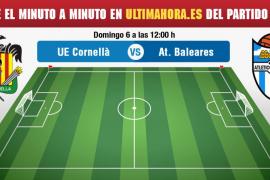 Cornellà-Atlético Baleares, en directo