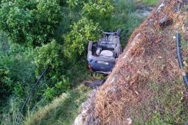 La increíble historia del joven que volcó su coche en Fornalutx