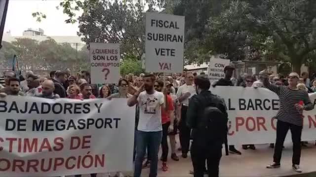Más de 600 personas se manifiestan en Palma contra la «corrupción judicial»