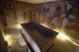 No hay cámaras secretas en la tumba de Tutankamón