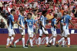 El Atlético, pendiente de la final de Europa League, cede en el Wanda ante el Espanyol