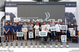 La Sail Racing PalmaVela corona a sus campeones en la bahía de Palma