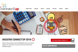 Este lunes a medianoche se cierra la primera fase del concurso Connect'Up