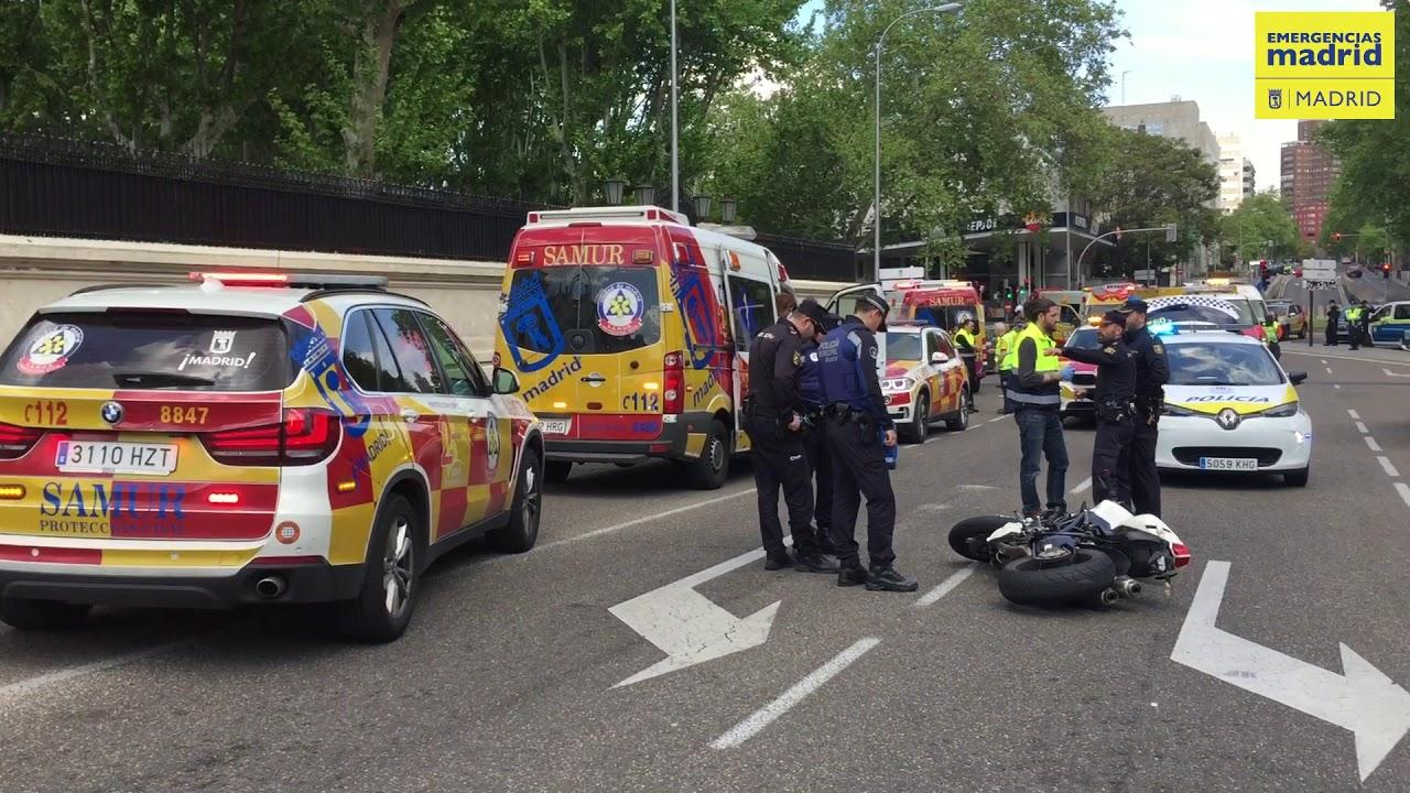 Muere un escolta de Mariano Rajoy en un accidente de moto en Madrid