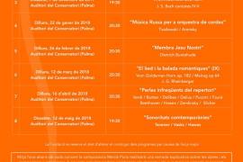 Temporada de conciertos 2017-18 de la Fundació Studium Aureum