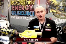 Muere ahogado cuando rescataba un cachorro el pentacampeón mundial de motocross Eric Geboer