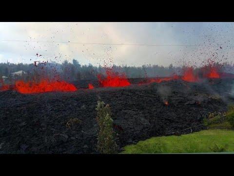 Advierten a los residentes de Hawái que «dejen ya» sus casas por nuevas erupciones volcánicas
