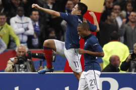 Nasri salva a Francia y Dinamarca manda a Portugal a la repesca