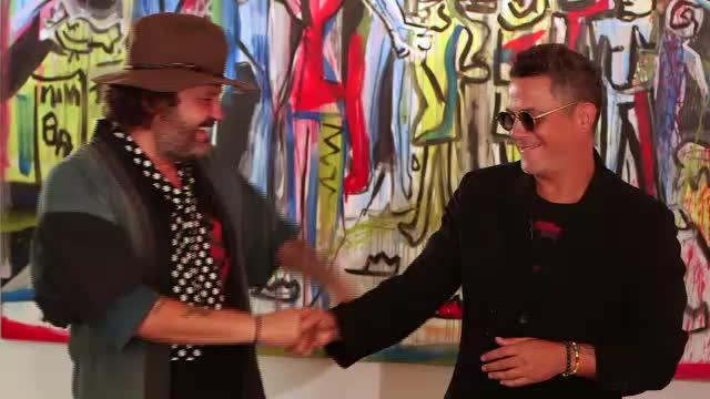 Zapata y Sanz fusionan «su arte» en Nueva York con la exposición 'Smile'
