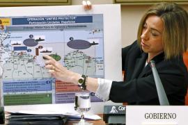 Chacón anuncia que España retira los F-18 que tiene en la misión en Libia