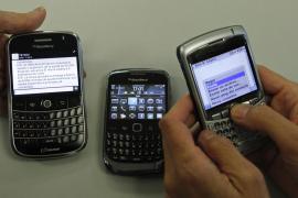 Los servicios de mensajería y correo de BlackBerry caen también en Norteamérica