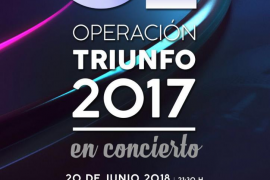'Operación Triunfo' recalará en Inca el 20 de junio
