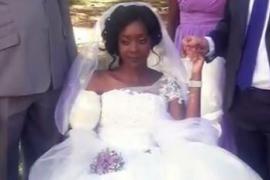 Un cocodrilo arranca un brazo a una mujer en Zimbabue pero no impide su boda