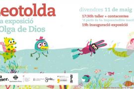 Leotolda, un cuentacuentos y una exposición de Olga de Dios en Rata Corner