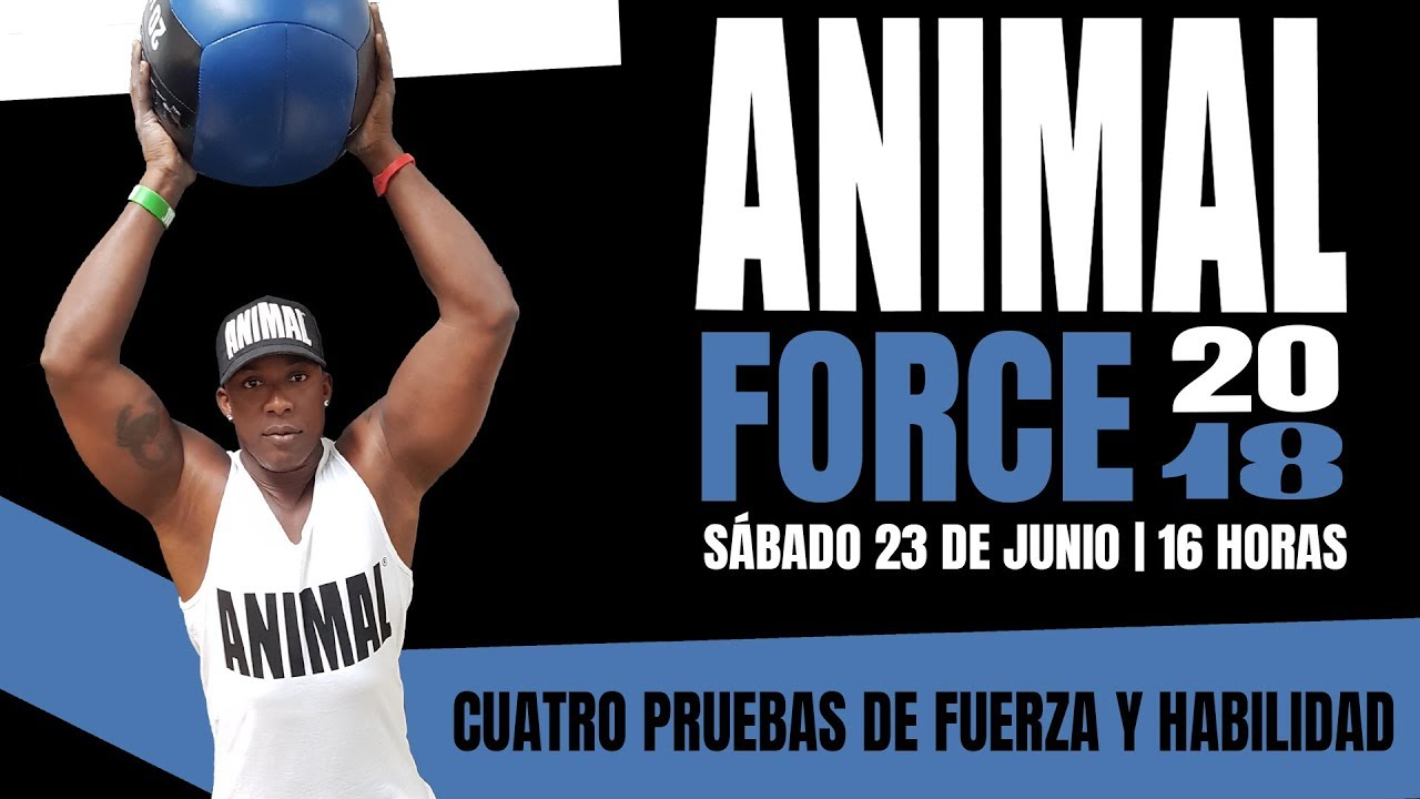 Habilidad y fuerza se dan cita en Palma con las pruebas del 'Animal Force 2018'