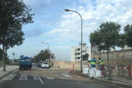 Varias averías dejan sin suministro de agua a los vecinos del Coll d'en Rabassa y Es Molinar