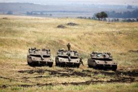Israel bombardea posiciones iraníes en Siria en respuesta a disparos contra los Altos del Golán