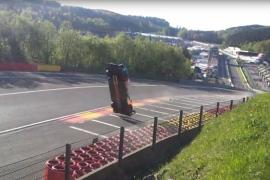 Espectacular accidente en las 6 Horas de Spa