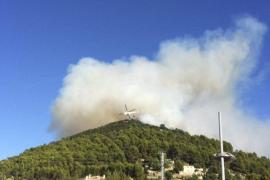 El Govern prorroga la alerta por peligro de incendios hasta final de octubre