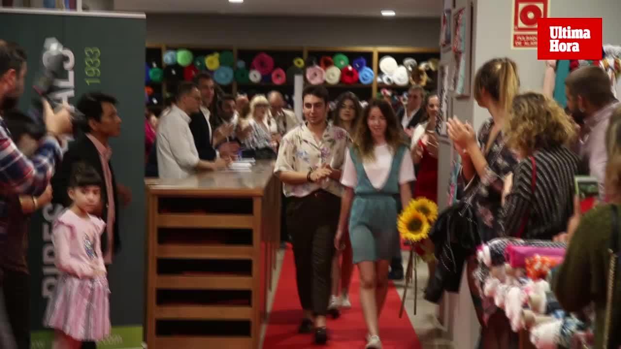 El joven Pau Nieto se alza con el concurso de moda Ribes & Casals