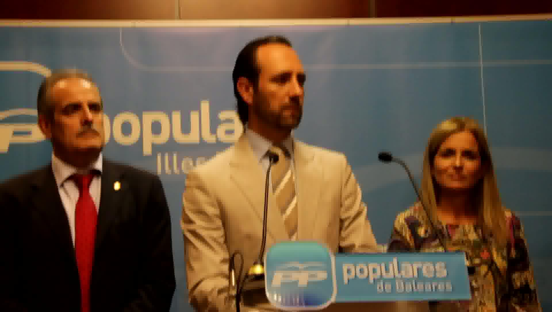 Bauzá cierra las listas del PP al 20-N con una concejal de Pozuelo y un imputado