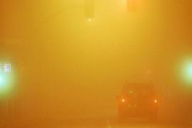 La niebla provocó ayer retrasos y cancelaciones de vuelos en Palma