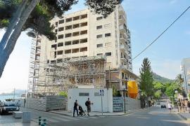 La estructura del hotel Son Moll de Cala Rajada será demolida en febrero de 2012