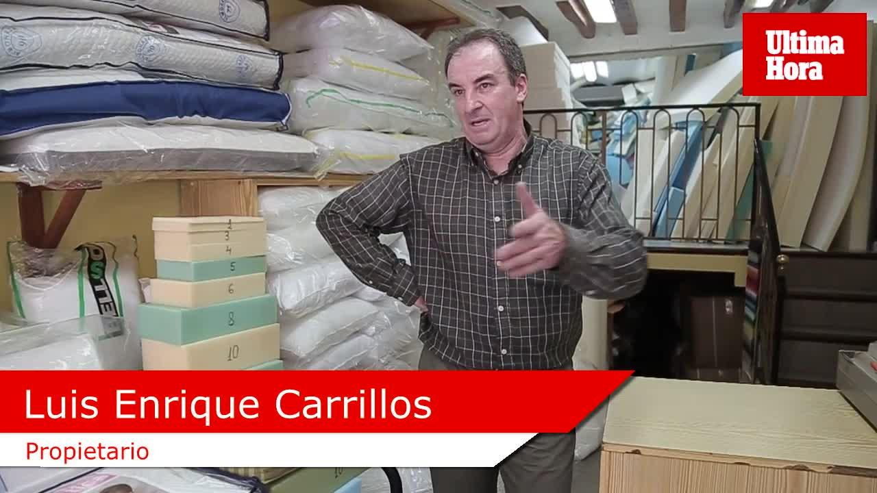 Luis, de Colchonería Verd: «Hoy día hay demasiadas marcas de colchones para la demanda que hay»