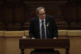 Torra promete impulsar una «propuesta de Constitución de república catalana»