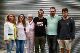 Familiares de los políticos presos por el 'procés':«Por reprimir el independentismo se están cargando el Estado de derecho»