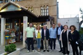 Lleno absoluto en el 'Sopar Groc' en solidaridad con los presos