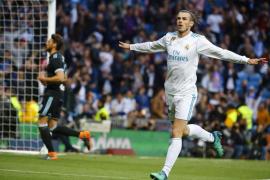 Bale lidera la goleada del Madrid ante el Celta