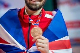 Longobardi, bronce en el Europeo de taekwondo