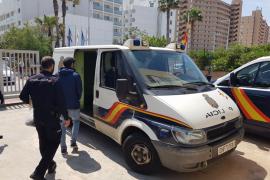 Detenido por robar en nueve habitaciones de un hotel de la Playa de Palma