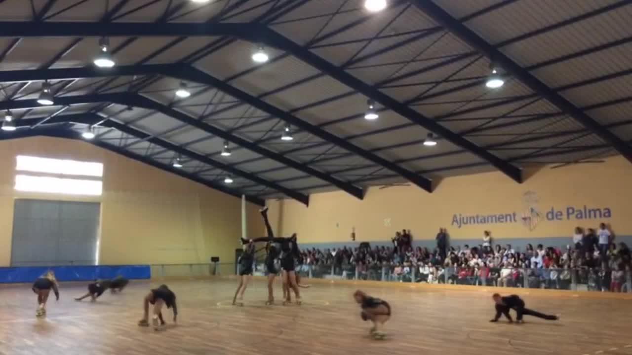 Festival solidario de patinaje en Son Rapinya