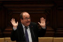 Iceta, en el Parlament: «Esto acabará como el rosario de la aurora, o sea, en batalla campal»