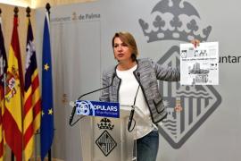 Durán critica a Noguera por la pasividad de Cort ante las ocupaciones en Palma