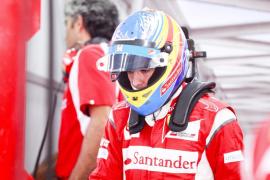 Alonso: «No estoy contento  con la sexta posición, pero refleja la situación actual»