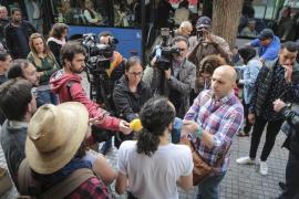 Stop Desahucios paraliza un desalojo en Palma