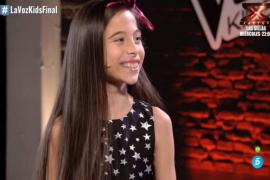 'La Voz Kids' tiene ganadora: Melani triunfa en el 'talent' infantil de Telecinco