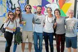 Gran fiesta de arte urbano en la segunda edición de Inca Street Art