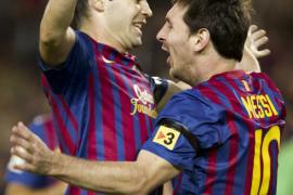 Leo Messi vuelve a liderar un triunfo coral del Barça