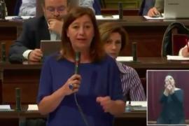 Armengol: «Es lamentable utilizar dinero público para perseguir el catalán»