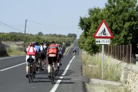 La carretera vieja de Sineu permanecerá cortada a la altura de la rotonda de Son Ferriol a partir de este jueves