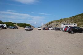 Artà cierra el paso de vehículos a Cala Torta para proteger las dunas