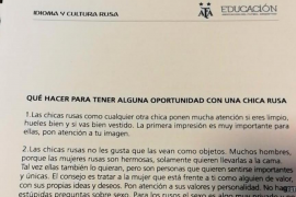 Argentina distribuye una guía para seducir a «las hermosas rusas» durante el Mundial